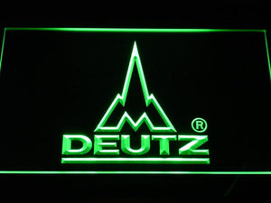 Deutz LED Neon Sign - Green - SafeSpecial