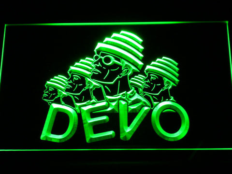 Image of Devo LED Neon Sign - Green - SafeSpecial