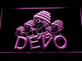 Devo LED Neon Sign - Purple - SafeSpecial