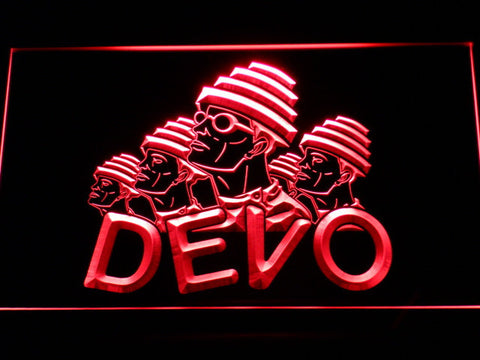 Devo LED Neon Sign - Red - SafeSpecial