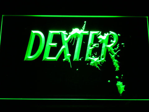 Image of Dexter LED Neon Sign - Green - SafeSpecial