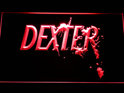 Dexter LED Neon Sign - Red - SafeSpecial