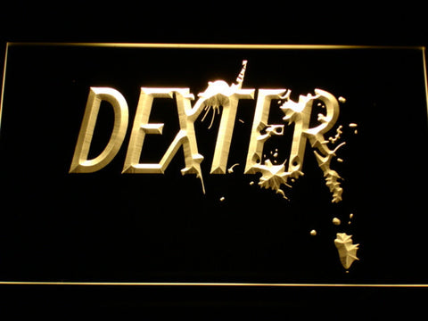 Image of Dexter LED Neon Sign - Yellow - SafeSpecial