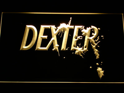 Dexter LED Neon Sign - Yellow - SafeSpecial