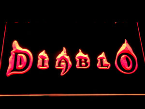 Diablo LED Neon Sign - Red - SafeSpecial