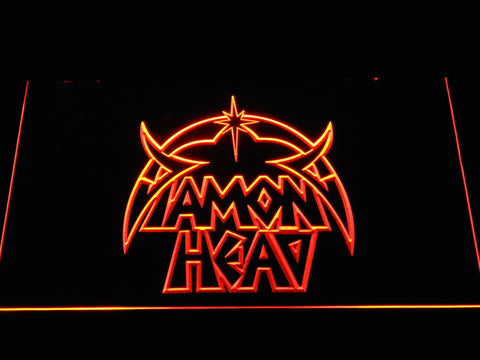 Image of Diamond Head LED Neon Sign - Orange - SafeSpecial