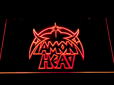 Diamond Head LED Neon Sign - Red - SafeSpecial