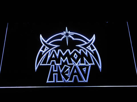 Diamond Head LED Neon Sign - White - SafeSpecial