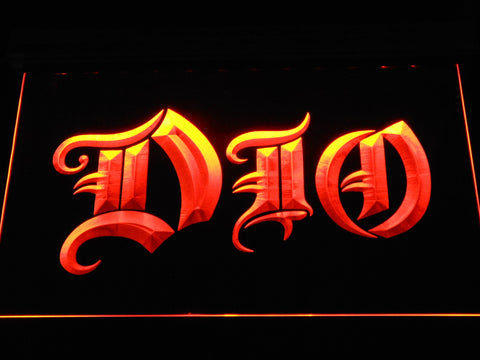 DIO LED Neon Sign - Orange - SafeSpecial