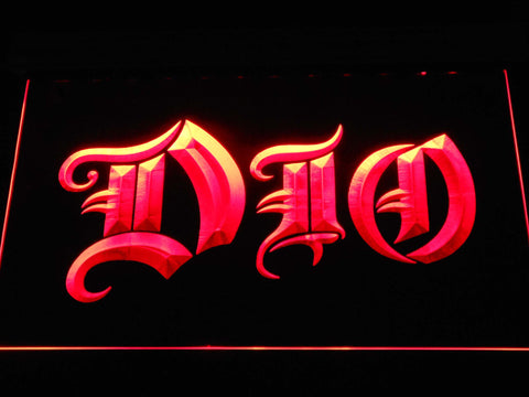 DIO LED Neon Sign - Red - SafeSpecial