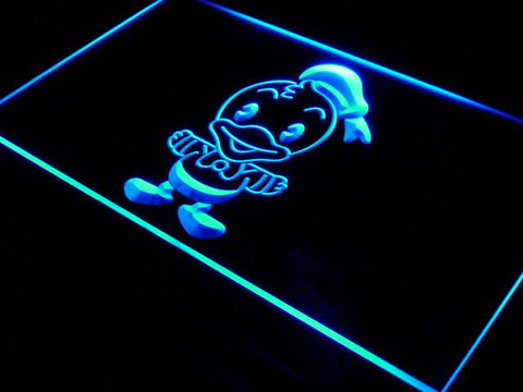 Image of Disney Babies Donald Duck LED Neon Sign - Blue - SafeSpecial