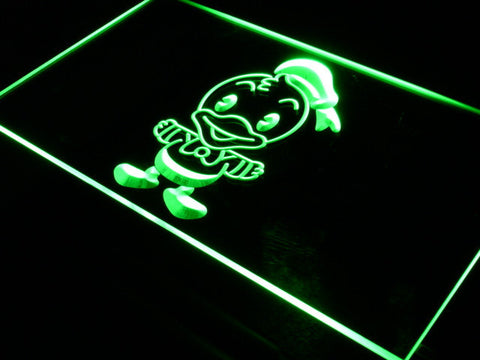 Image of Disney Babies Donald Duck LED Neon Sign - Green - SafeSpecial