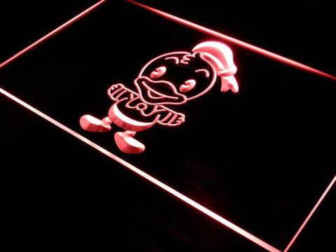 Image of Disney Babies Donald Duck LED Neon Sign - Red - SafeSpecial