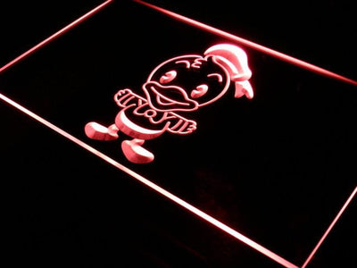 Disney Babies Donald Duck LED Neon Sign - Red - SafeSpecial
