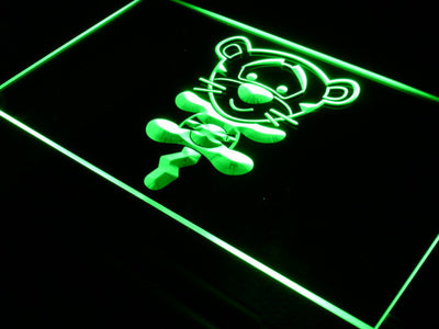 Disney Babies Tigger LED Neon Sign - Green - SafeSpecial