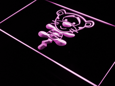 Disney Babies Tigger LED Neon Sign - Purple - SafeSpecial