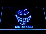 Disturbed The Guy LED Neon Sign - Blue - SafeSpecial