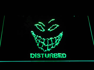 Disturbed The Guy LED Neon Sign - Green - SafeSpecial