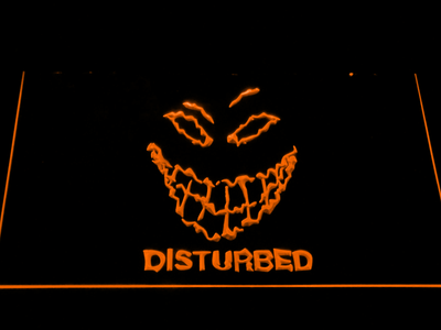 Disturbed The Guy LED Neon Sign - Orange - SafeSpecial