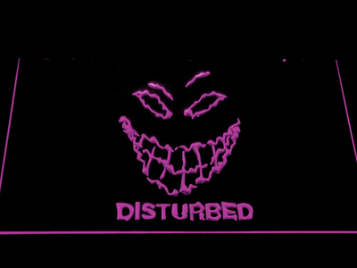 Disturbed The Guy LED Neon Sign - Purple - SafeSpecial