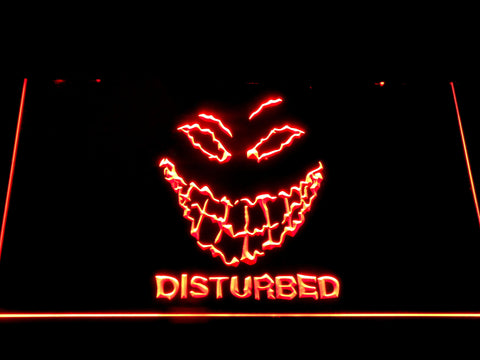 Disturbed The Guy LED Neon Sign - Red - SafeSpecial