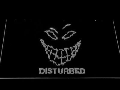 Disturbed The Guy LED Neon Sign - White - SafeSpecial