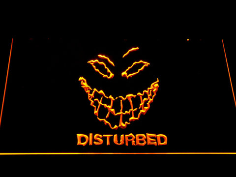 Disturbed The Guy LED Neon Sign - Yellow - SafeSpecial