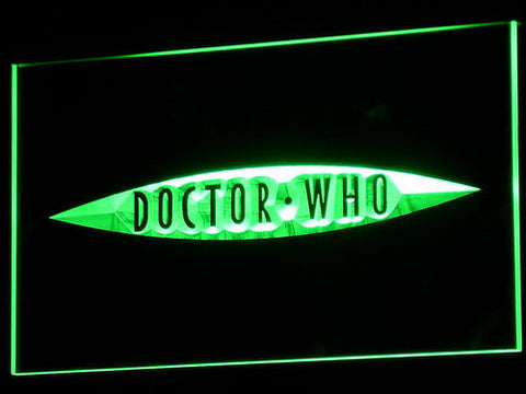 Image of Doctor Who The End of Time LED Neon Sign - Green - SafeSpecial
