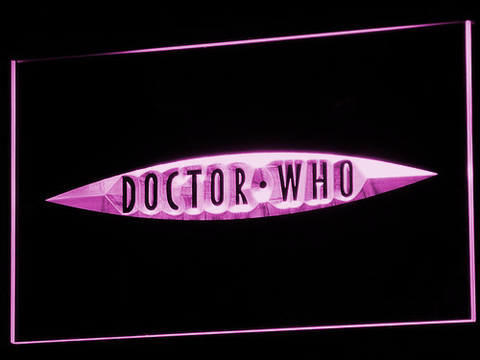 Image of Doctor Who The End of Time LED Neon Sign - Purple - SafeSpecial