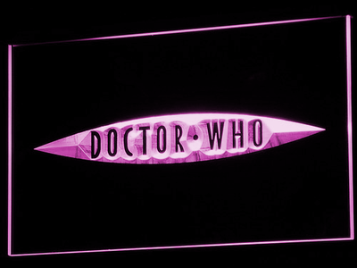 Doctor Who The End of Time LED Neon Sign - Purple - SafeSpecial