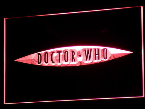 Image of Doctor Who The End of Time LED Neon Sign - Red - SafeSpecial