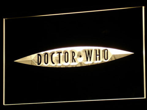 Image of Doctor Who The End of Time LED Neon Sign - Yellow - SafeSpecial