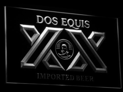 Image of Dos Equis LED Neon Sign - White - SafeSpecial