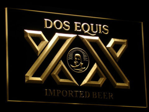 Image of Dos Equis LED Neon Sign - Yellow - SafeSpecial
