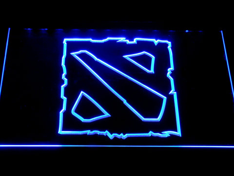 Image of Dota 2 LED Neon Sign - Blue - SafeSpecial