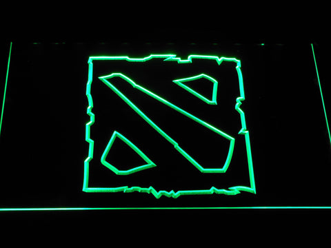 Image of Dota 2 LED Neon Sign - Green - SafeSpecial
