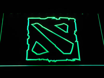 Dota 2 LED Neon Sign - Green - SafeSpecial