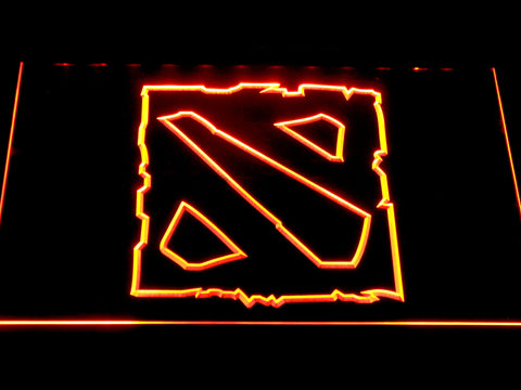 Image of Dota 2 LED Neon Sign - Orange - SafeSpecial