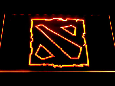 Dota 2 LED Neon Sign - Orange - SafeSpecial