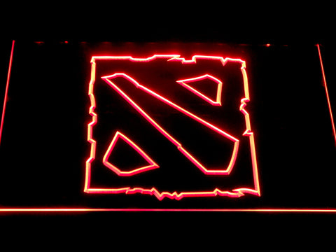Image of Dota 2 LED Neon Sign - Red - SafeSpecial