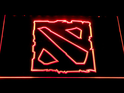 Dota 2 LED Neon Sign - Red - SafeSpecial