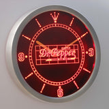 Dr. Pepper Good For Life LED Neon Wall Clock - Red - SafeSpecial