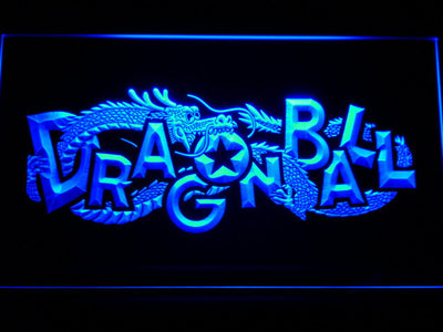 Dragon Ball LED Neon Sign - Blue - SafeSpecial