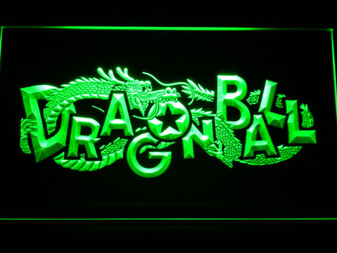 Dragon Ball LED Neon Sign - Green - SafeSpecial
