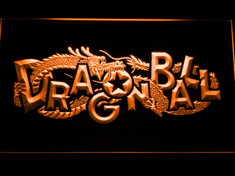 Image of Dragon Ball LED Neon Sign - Orange - SafeSpecial