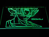 Dragon Ball Saiyan Goku LED Neon Sign - Green - SafeSpecial