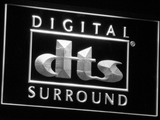 dts Digital Surround LED Neon Sign - White - SafeSpecial