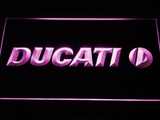 Ducati LED Neon Sign - Purple - SafeSpecial