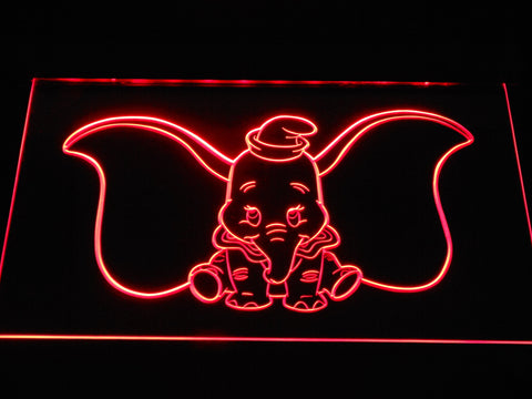 Image of Dumbo LED Neon Sign - Red - SafeSpecial