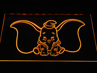 Dumbo LED Neon Sign - Yellow - SafeSpecial